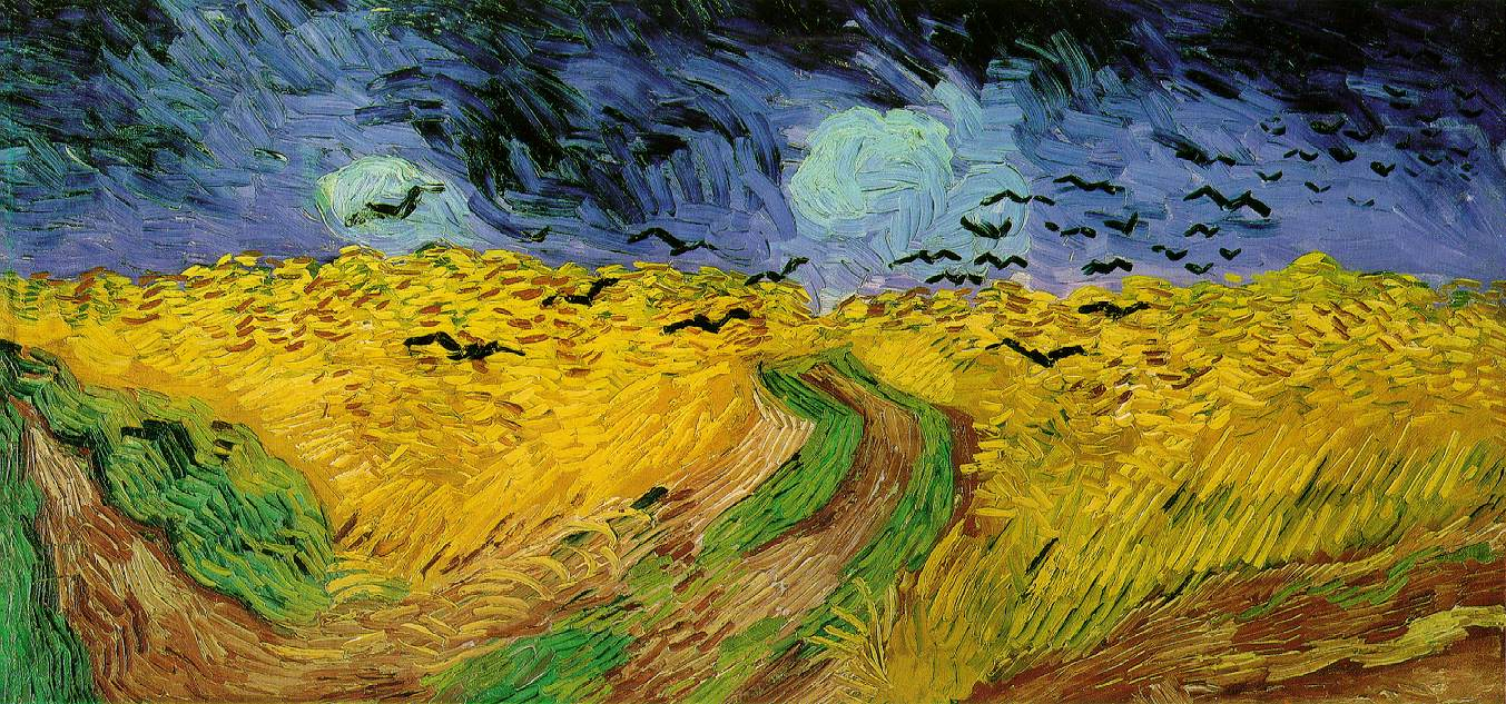 Van Gogh 1890_Wheat_Field_with_Crows