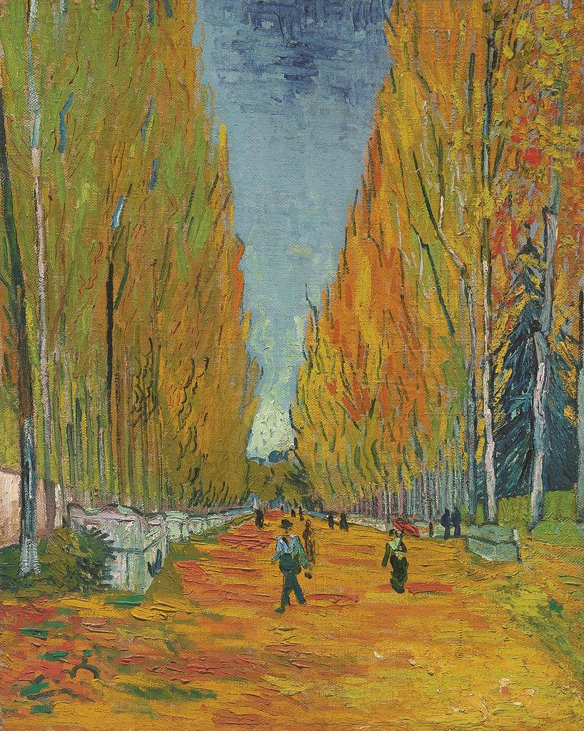 Van Gogh L'allee des Alyscamps (F 569)