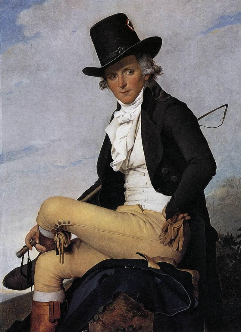 david 1795 portrait-de-pierre-seriziat Loivre