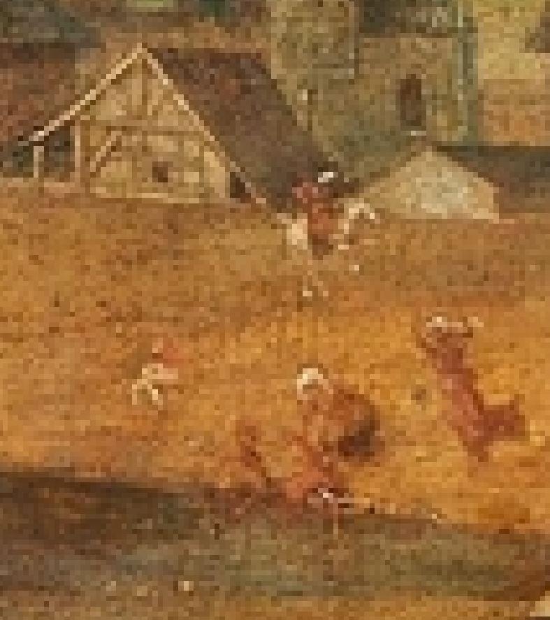piero di cosimo 1515 ca histoire de promethee mba strasbourg detail homme enlise
