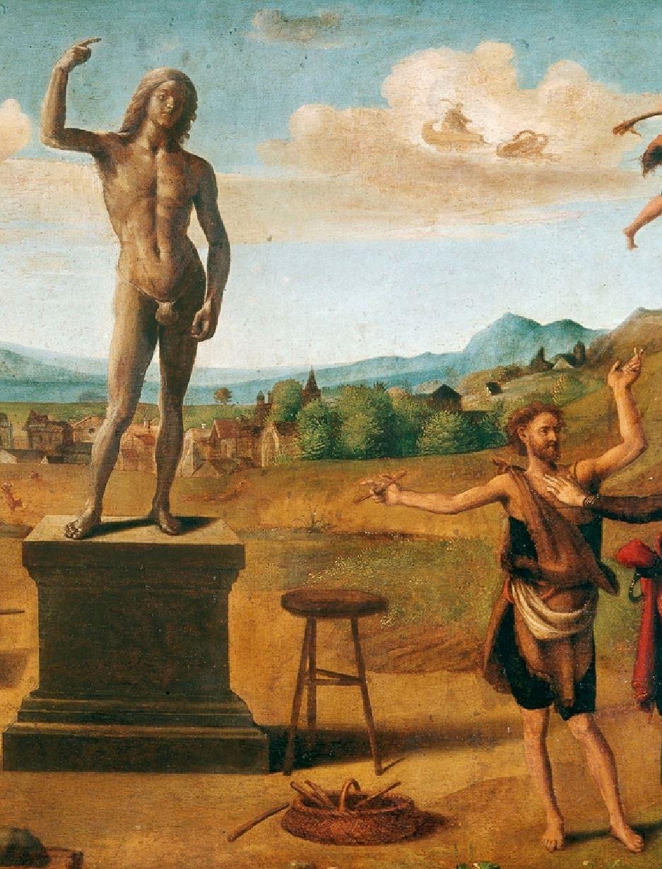 piero di cosimo 1515 ca histoire de promethee mba strasbourg detail promethee