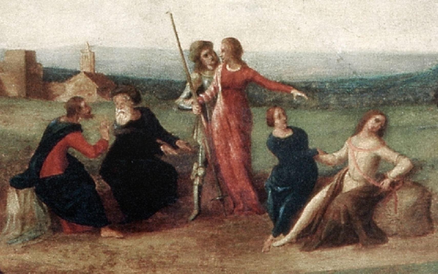 piero di cosimo 1515 ca histoire de promethee mba strasbourg six dieux