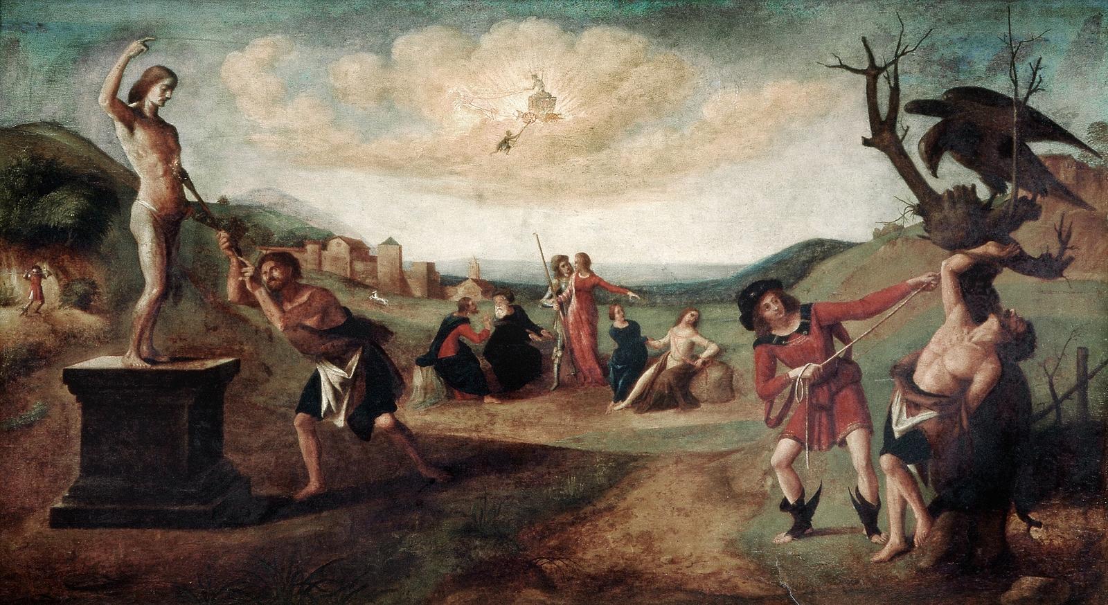piero di cosimo 1515 ca histoire de promethee mba strasbourg
