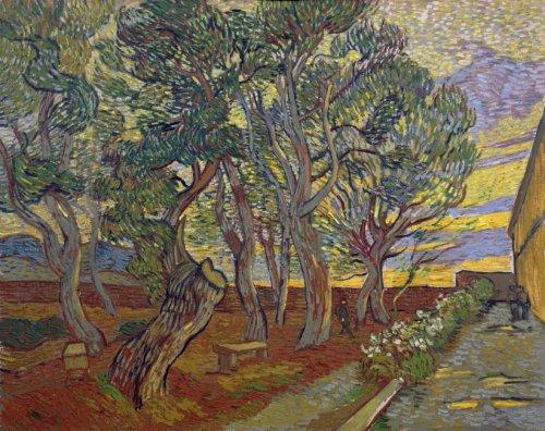 van Gogh 1889 Le jardin de l'asile Van Gogh Museum Amsterdam