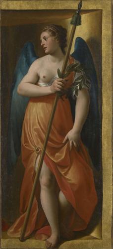 Alessandro Turchi 1606 Organ shutters closed right Royal Academy Trust Buckingham Palace Vertu supp