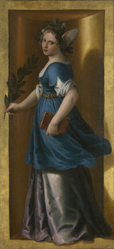 Alessandro Turchi 1606 Organ shutters opened right Royal Academy Trust Buckingham Palace Poetry