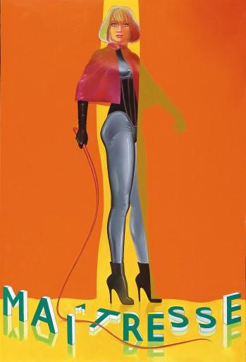 Allen Jones. Maitresse I (A film by Barbet Schroeder) 1978