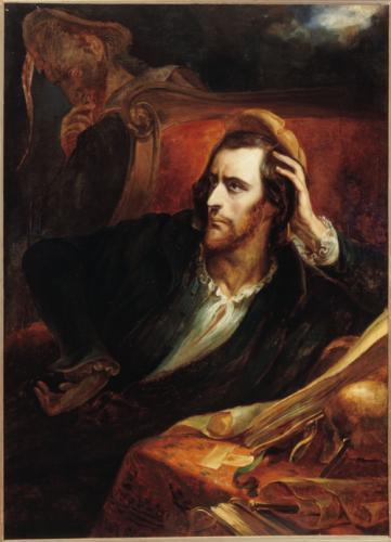 Ary Scheffer 1831 Faust dans son cabinet Musee de la Vie romantique
