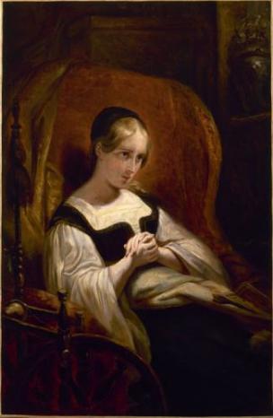 Ary Scheffer 1831 Marguerite au rouet Musee de la Vie romantique
