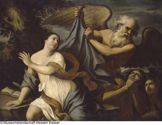 Cerrini, Giovanni Domenico 1670 - 1680 Le temps devoile la verite Kassel Museum