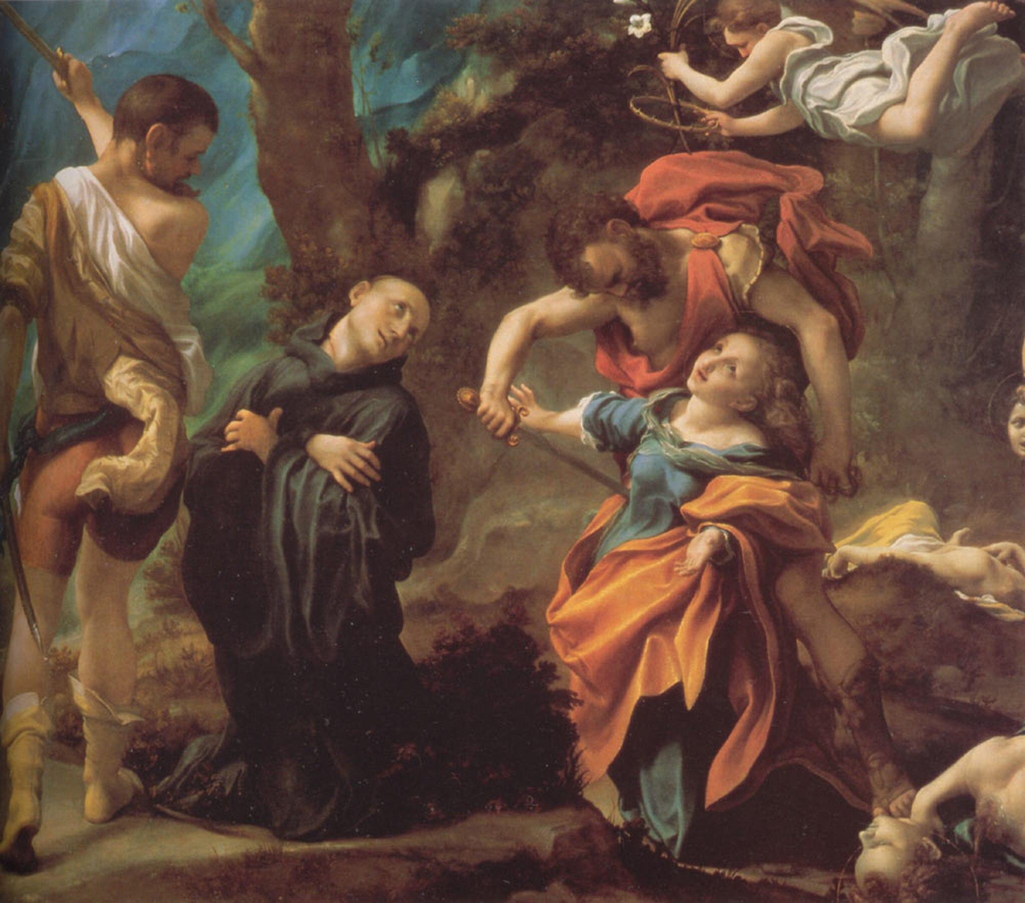Correge 1524 ca martirio_dei_quattro_santi Galerie nationale Parme