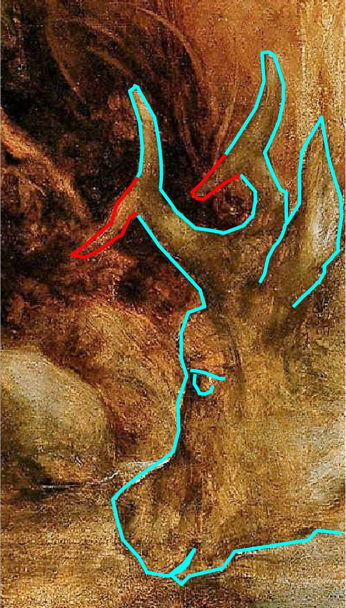 Correge 1530 ca Jupiter et Io Kunsthistorisches Museum Wien vache cerf