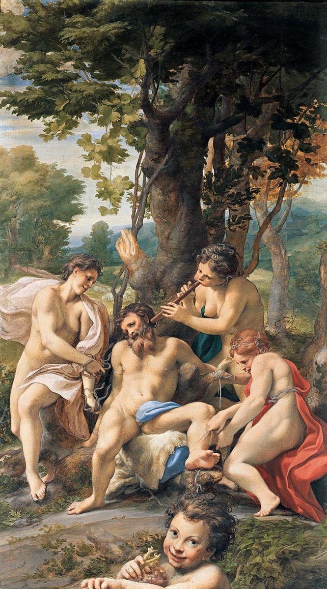 Correggio 1531Allegory_of_Vice Louvre