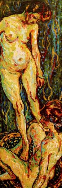 Ernst Ludwig Kirchner AktGruppe II 1907