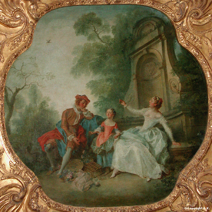 Lancret W293 Innocence Louvre Paris