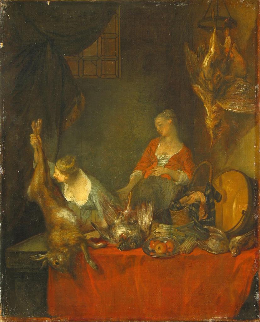 Lancret W529 1710-43 Dans la cuisine Ermitage