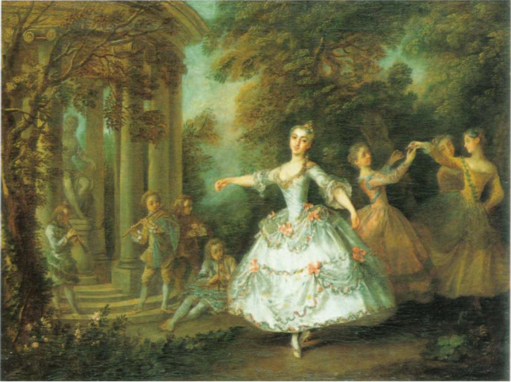 Lancret W598 1732 Marie Salle Chateau de Rheinsberg Brandenburg 42 × 54 cm