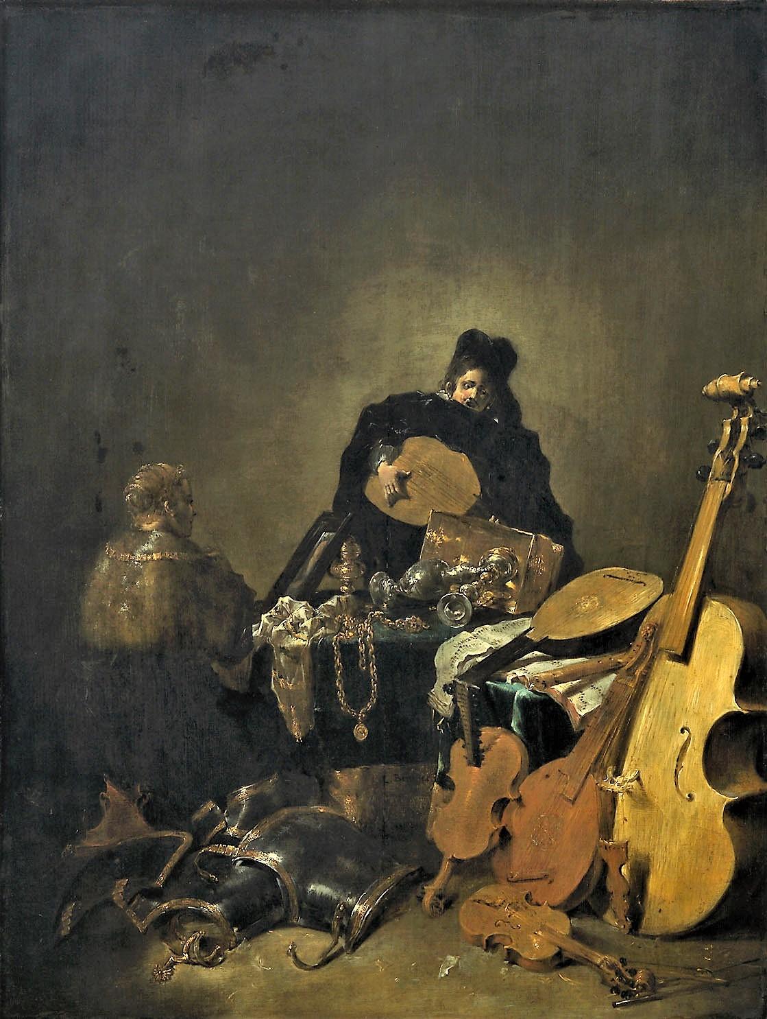 Leonard Bramer 1640 ca Allegorie de la Vanite Kunsthistorisches Museum Vienne