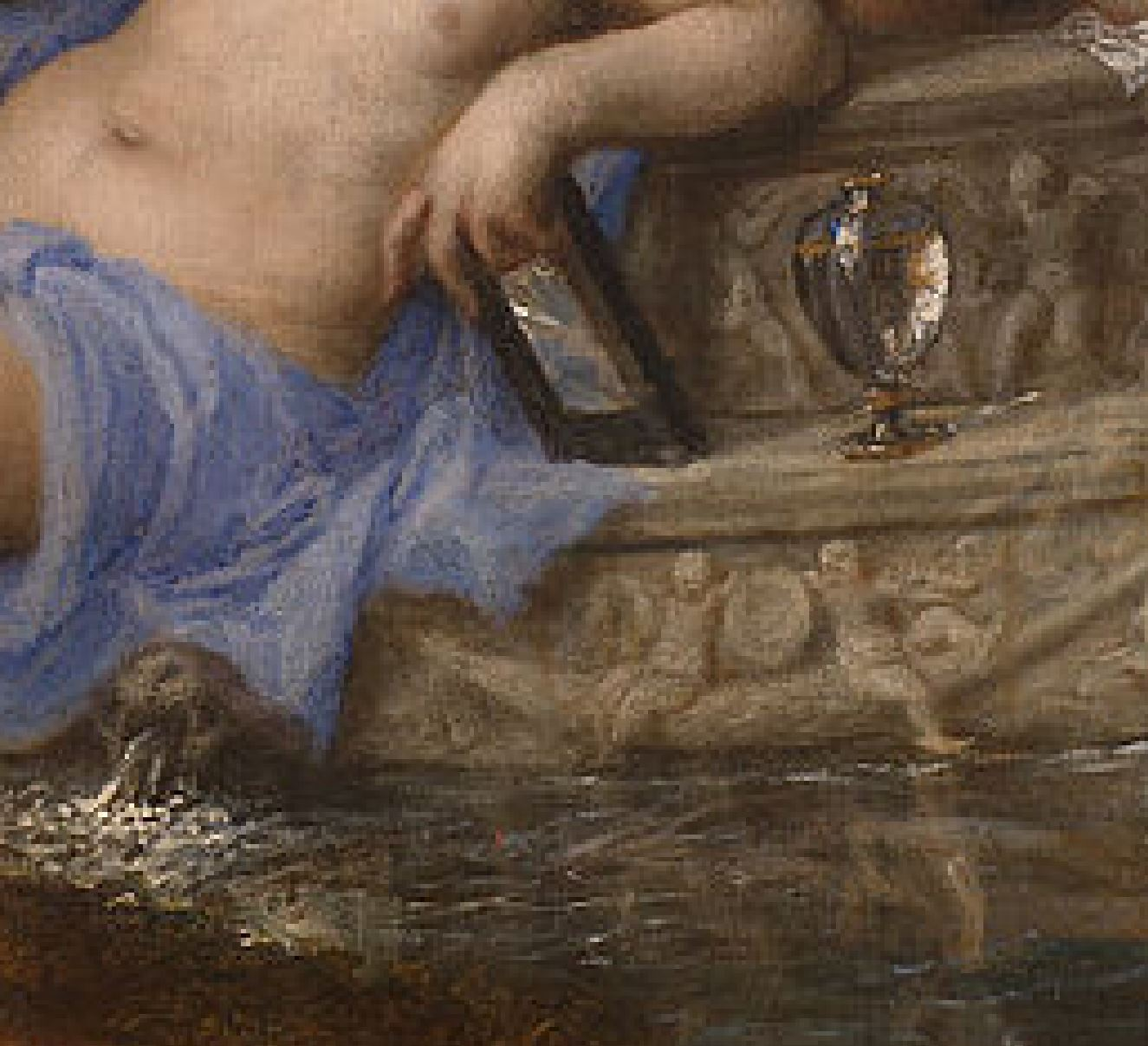 Titien 1556-1559 Diane et Acteon, Londres, National Gallery et Edimbourg, National Gallery of Scotland detail vision