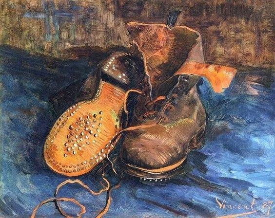 Van Gogh 1887 Les vieux souliers aux lacets