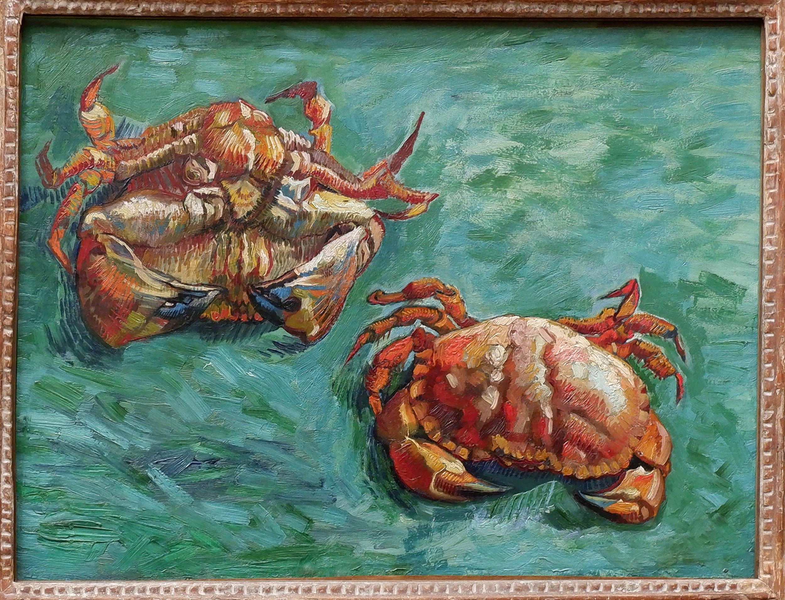 Van Gogh Les crabes National Gallery