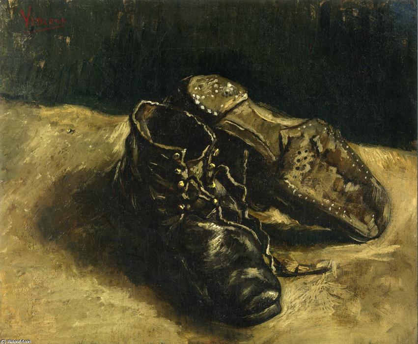 Vincent-Van-Gogh 1886-A-Pair-of-Shoes-3-
