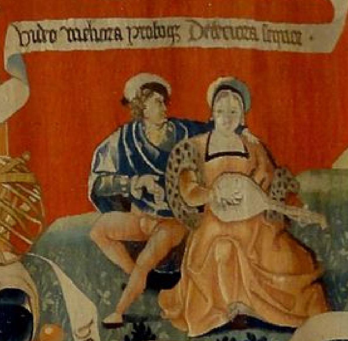 atelier de la Marche vers 1525 Amour Sacre Profane texte F2