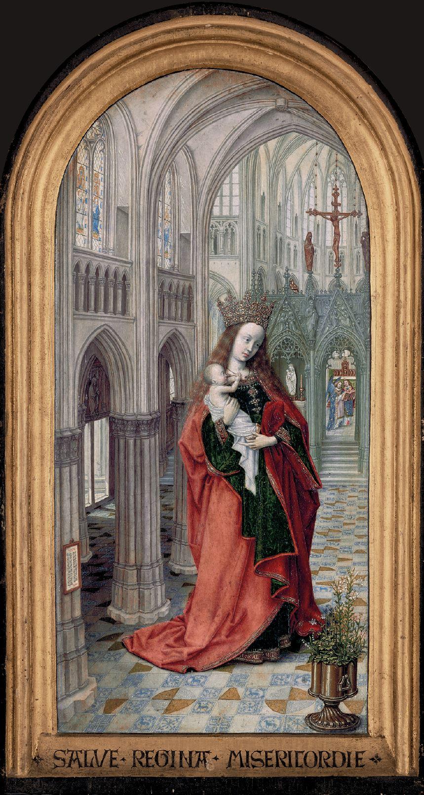 Diptych_Master_of_1499 Abbot Christiaan de Hondt, Koninklijk Museum voor Schone Kunsten, Antwerp left