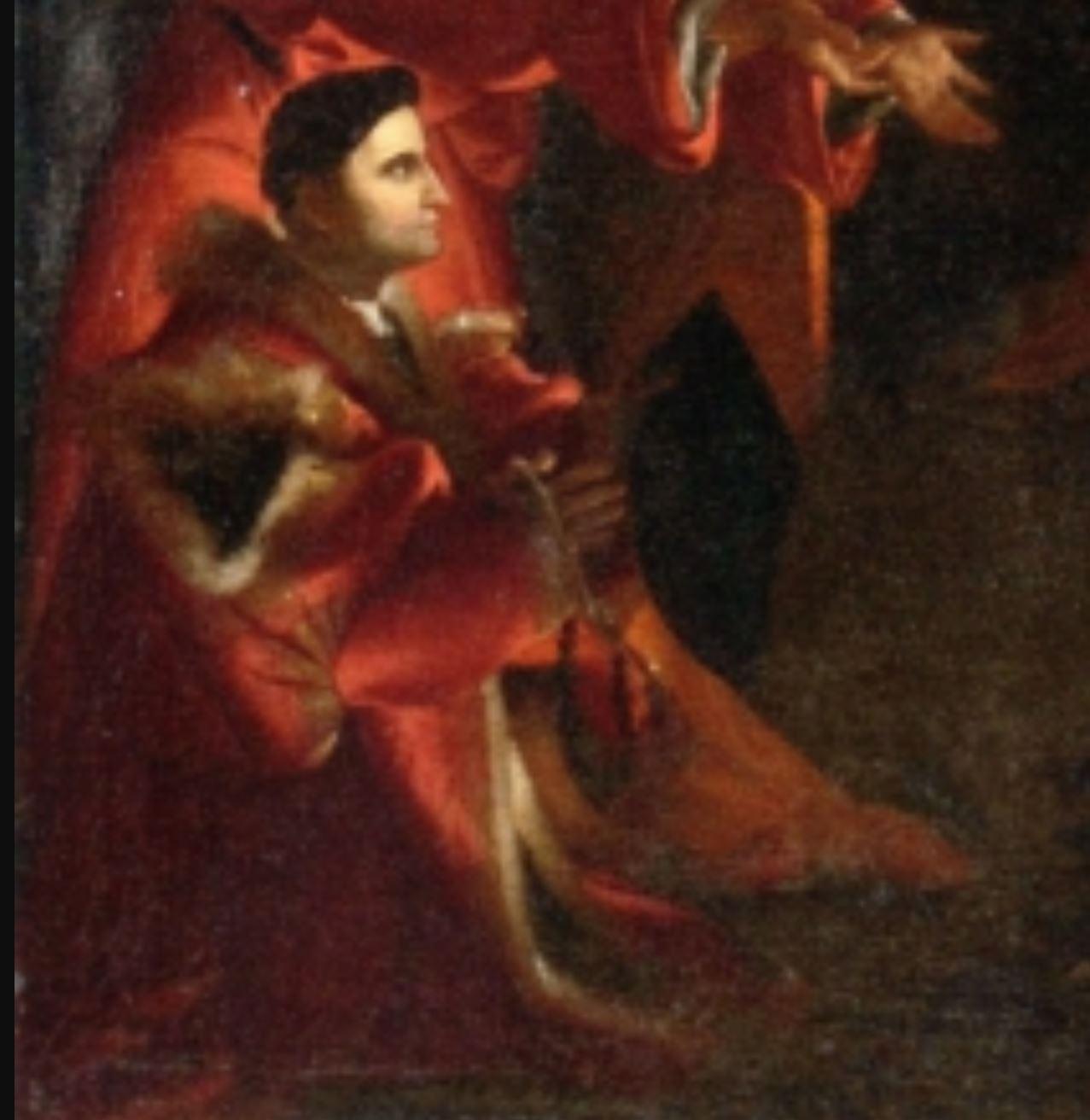 Lotto 1525-29, Nativite avec Domenico Tassi, (copie), Galerie de l'Academie, Venise (132 x 104) detail mari
