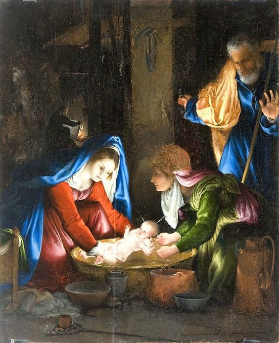 Lotto 1527-28 Nativita Pinacoteca Nazionale Sienne