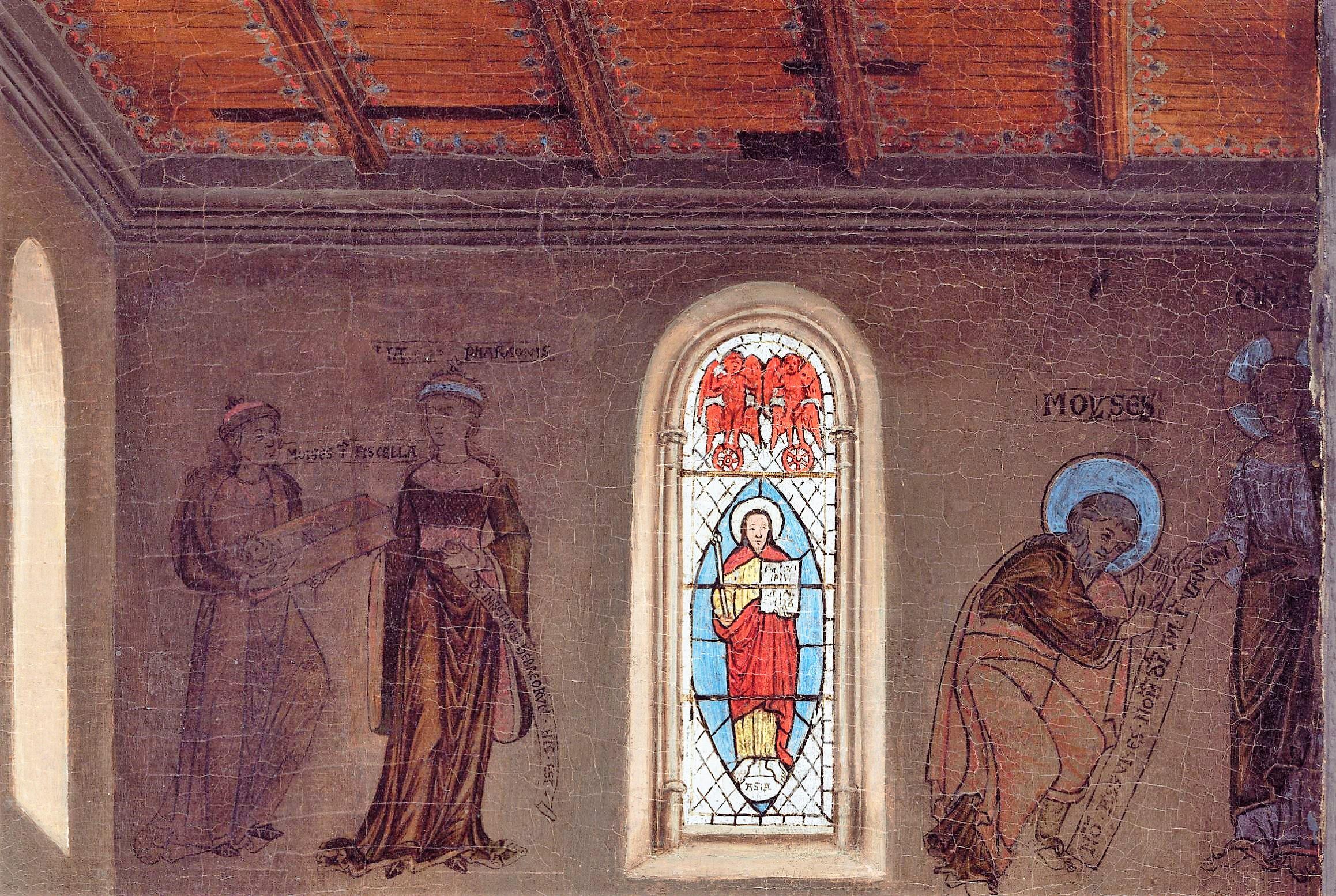 Van Eyck Annonciation 1434-36 NGA scenes haut
