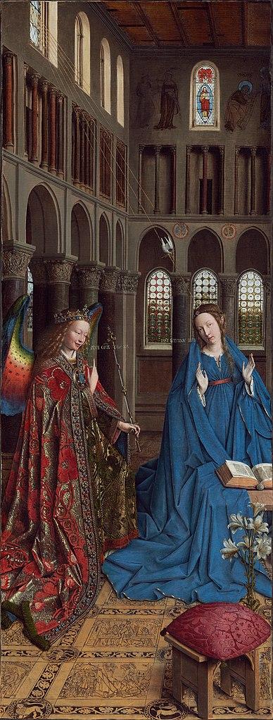 Van Eyck Annonciation 1434-36 NGA