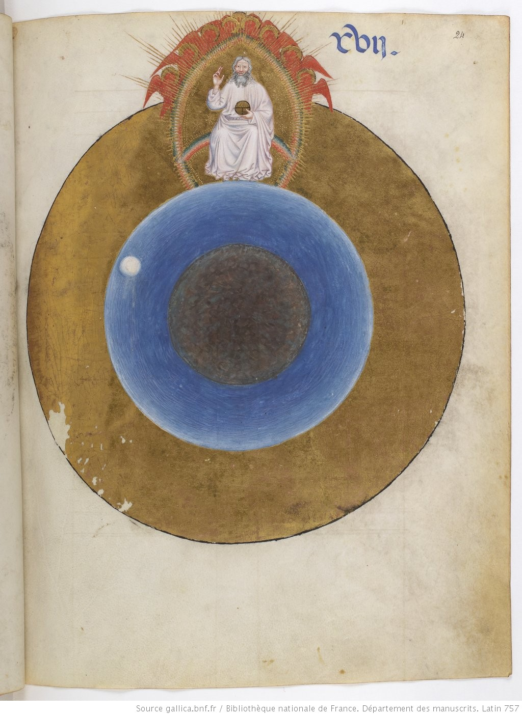 1 Dimanche Missel a l'usage des freres mineurs, Lombardie, 1388, Gallica BNF ms. lat. 757, fol. 24r