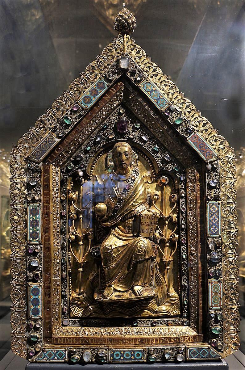 1166 ca Chasse de saint Servais Tresor de la Cathedrale Maastricht