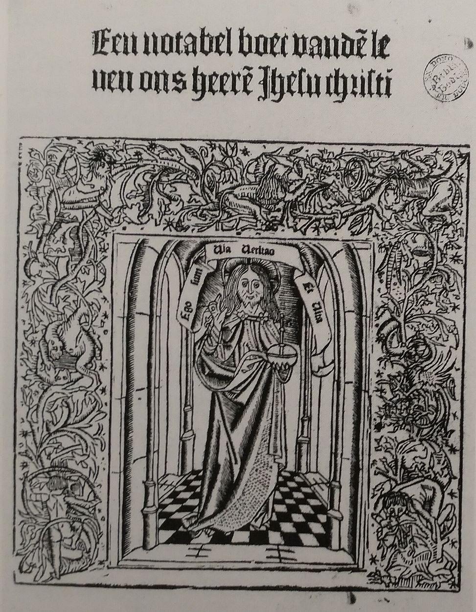 1487 Ludolfe Le Chartreux gravure du Maitre Virgo inter Virgines