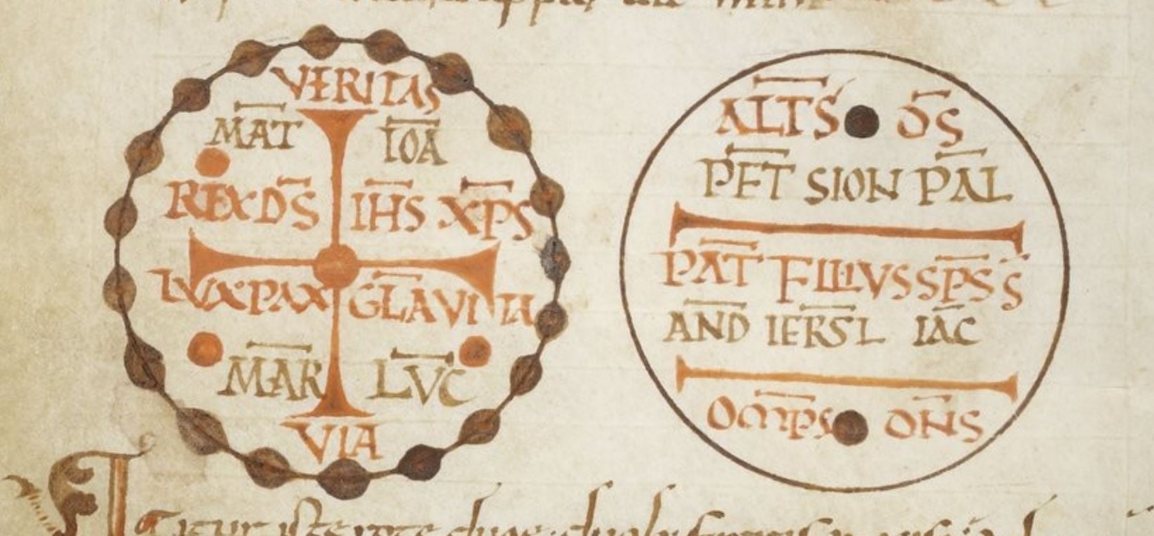 900-1000 PASCHASIUS RADBERTUS, Latin 2855 fol 63v. gallica