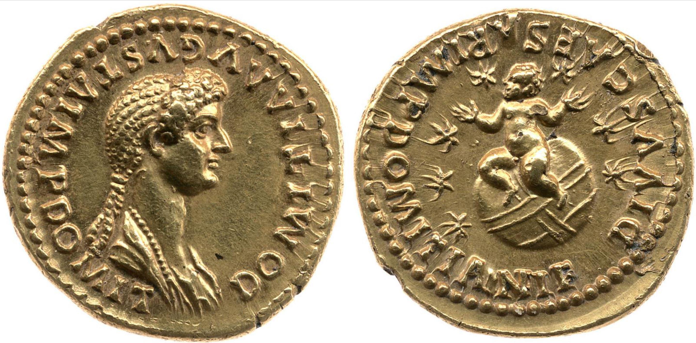 Aureus Domitien 82-83 Bristish Museum