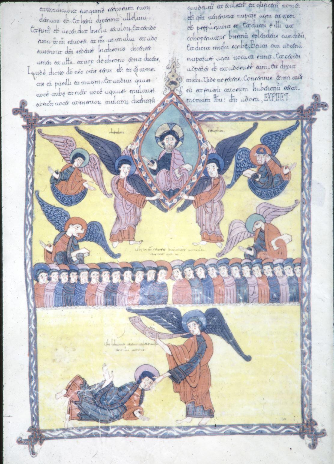Beatus d'Osma 1086 Apocalypse 19,1-9 Burgo de Osma, Archivo de la Catedral, Cod. 1