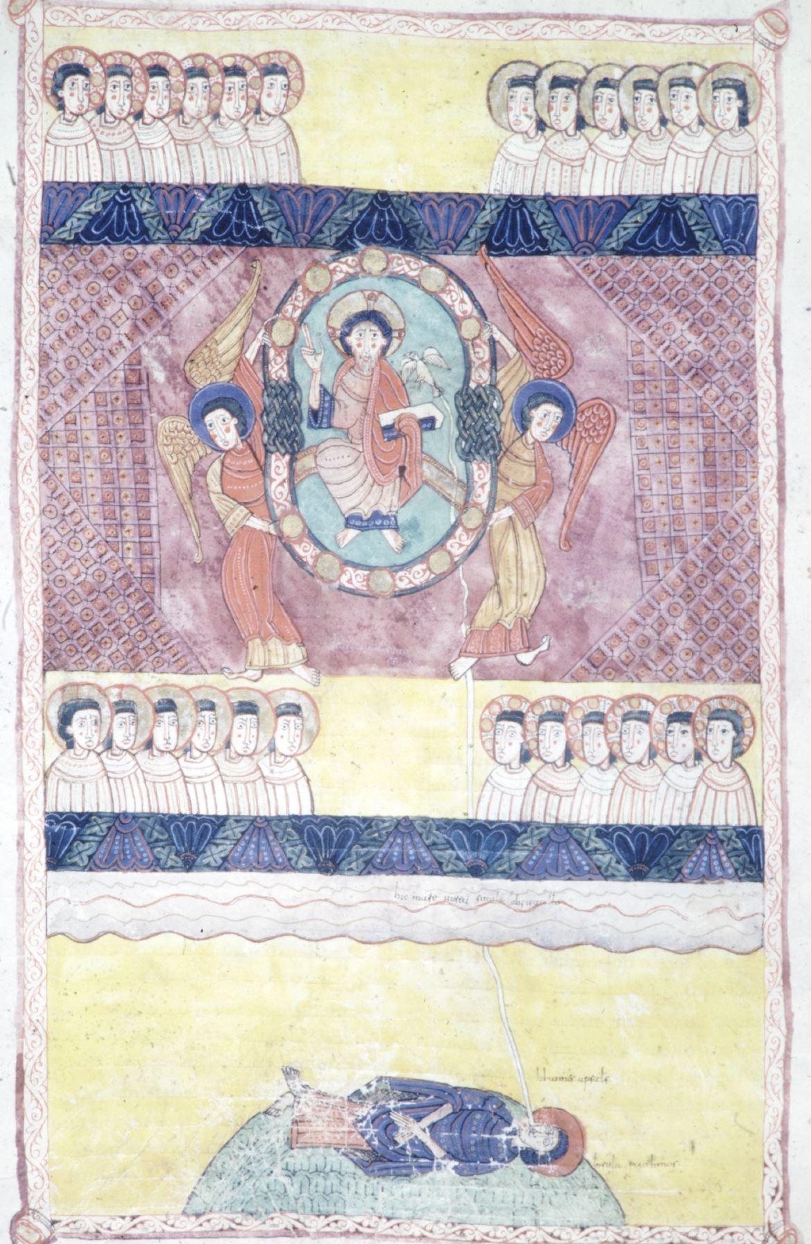 Beatus d'Osma 1086 Apocalypse 2-4 Burgo de Osma, Archivo de la Catedral, Cod. 1