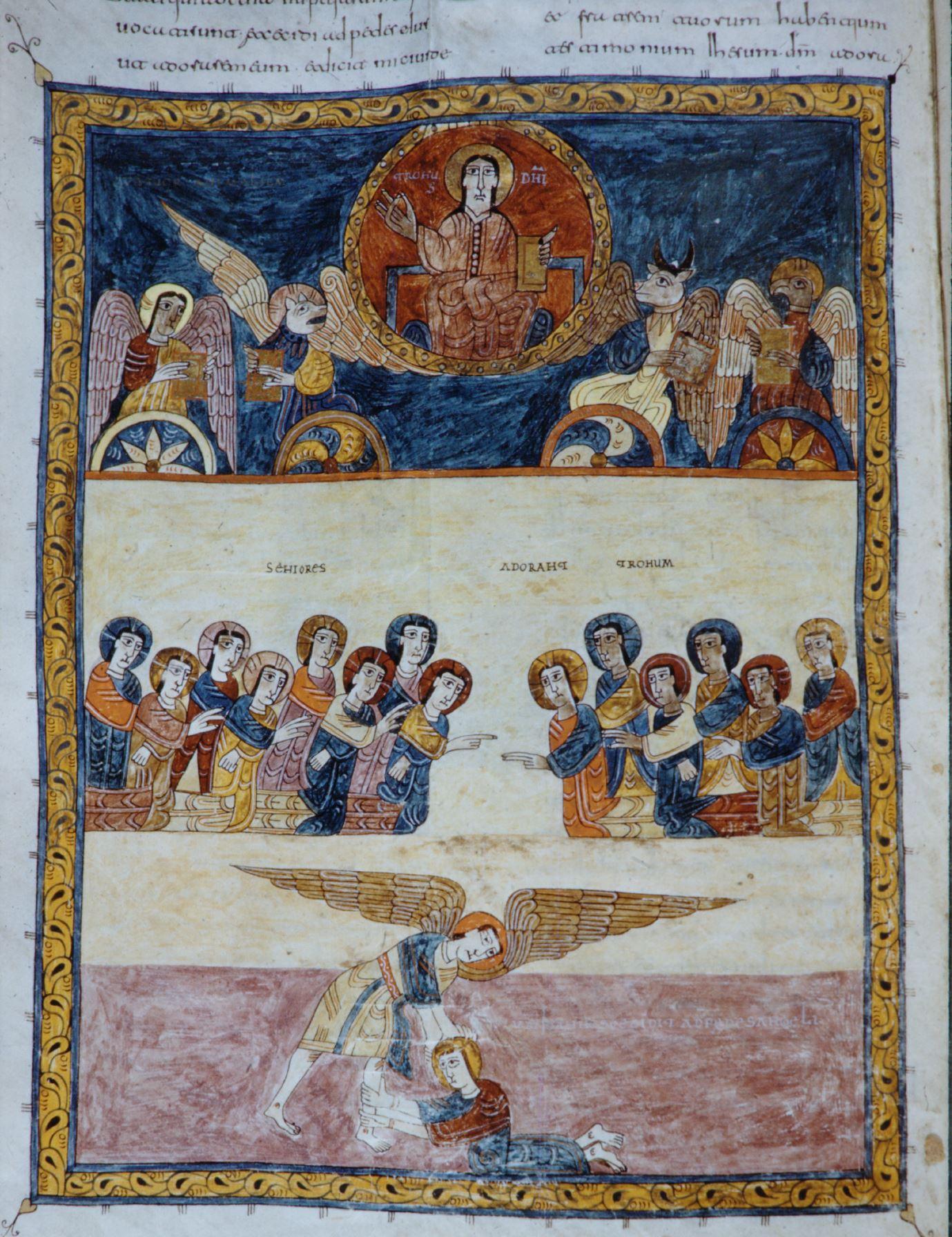 Beatus de gerone 975 Apocalypse 19,1