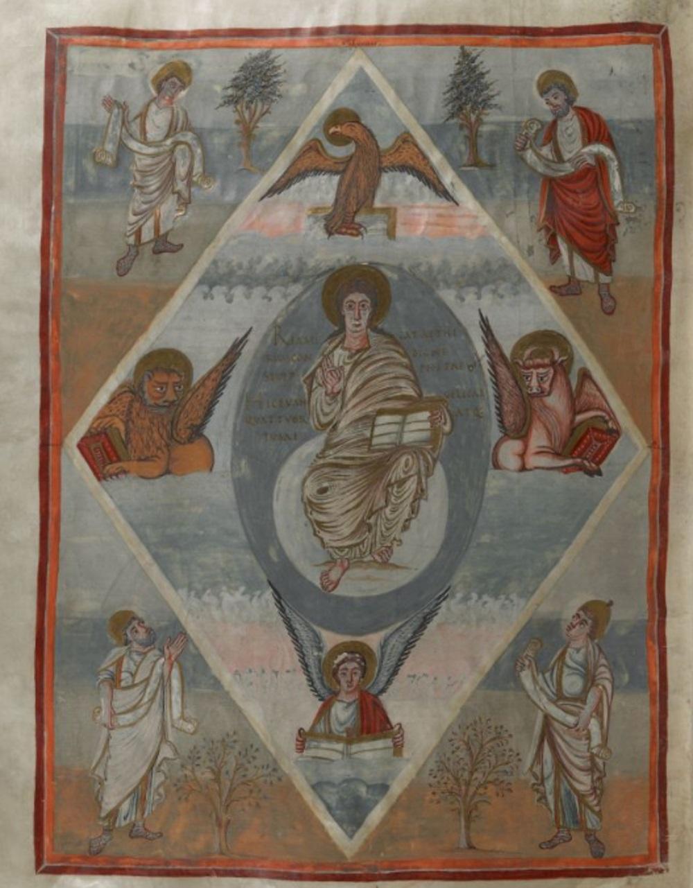 Bible de Moutier-Grandval. Londres-British Museum, Ms. Add. 10546, f 352v