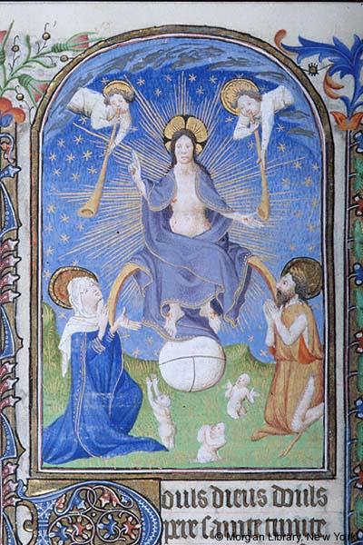 Book of Hours France, Paris, ca. 1420 MS M.1000 fol. 235v Morgan