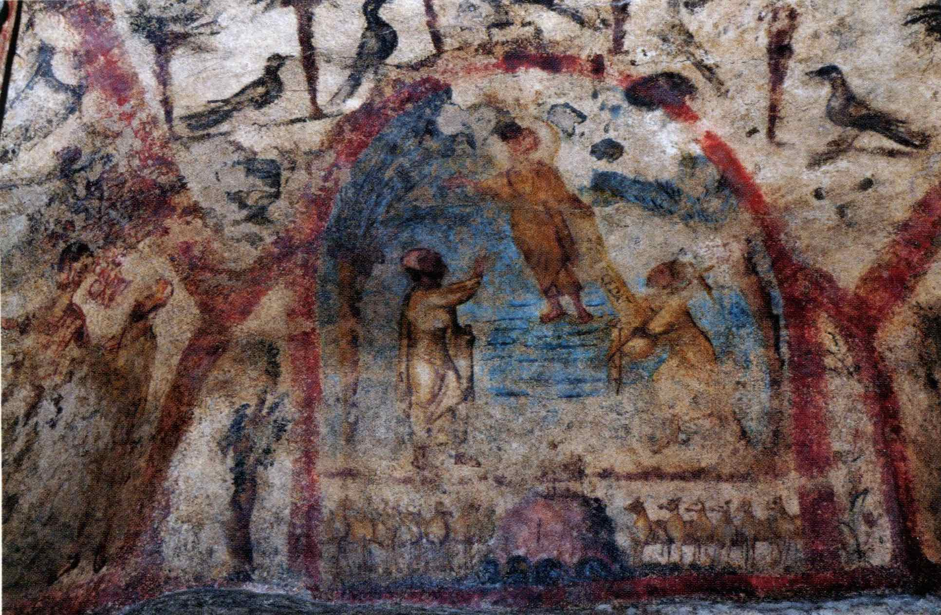 Catacombes Grottaferrata 350-70