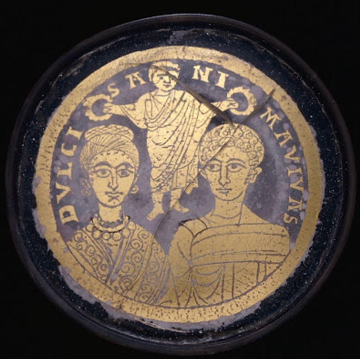 Christ benissant un couple de jeunes maries DULCIS ANIMA VIVAS British Museum