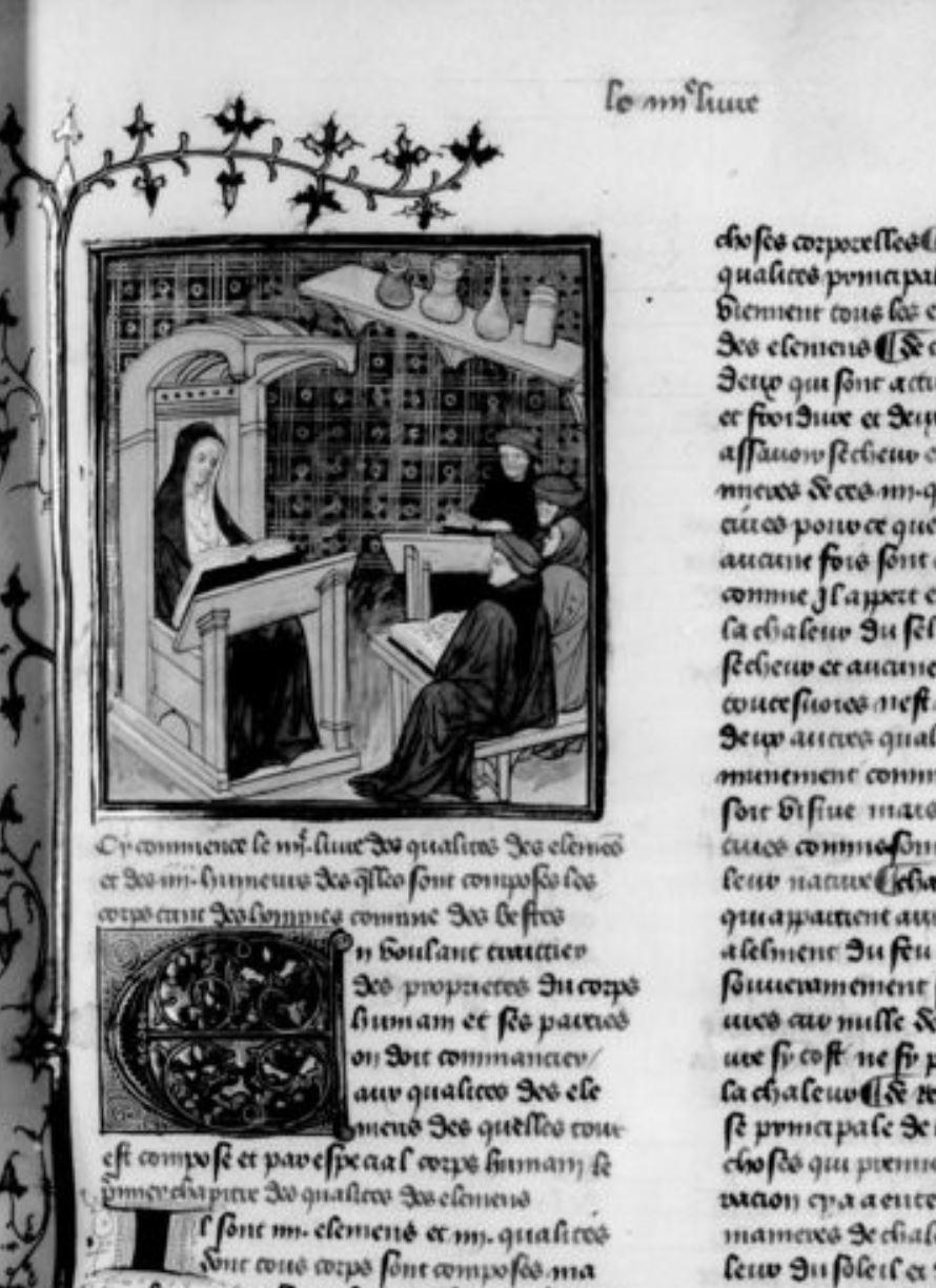 Debut du quart livre BNF Français 22534. vue 42