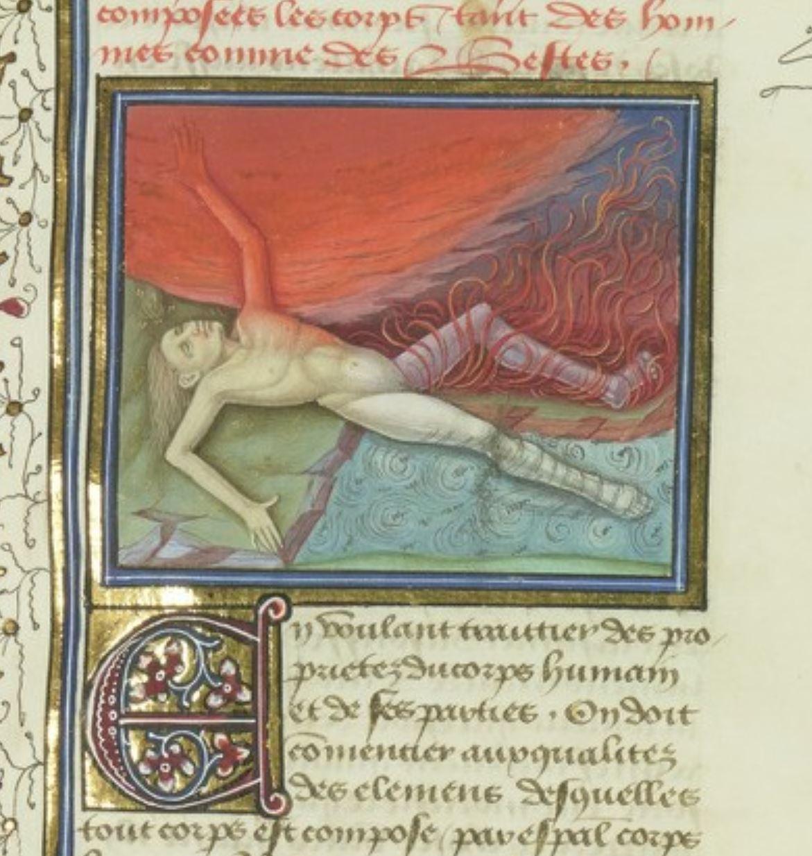 Debut du quart livre BNF Francais 135 fol 91