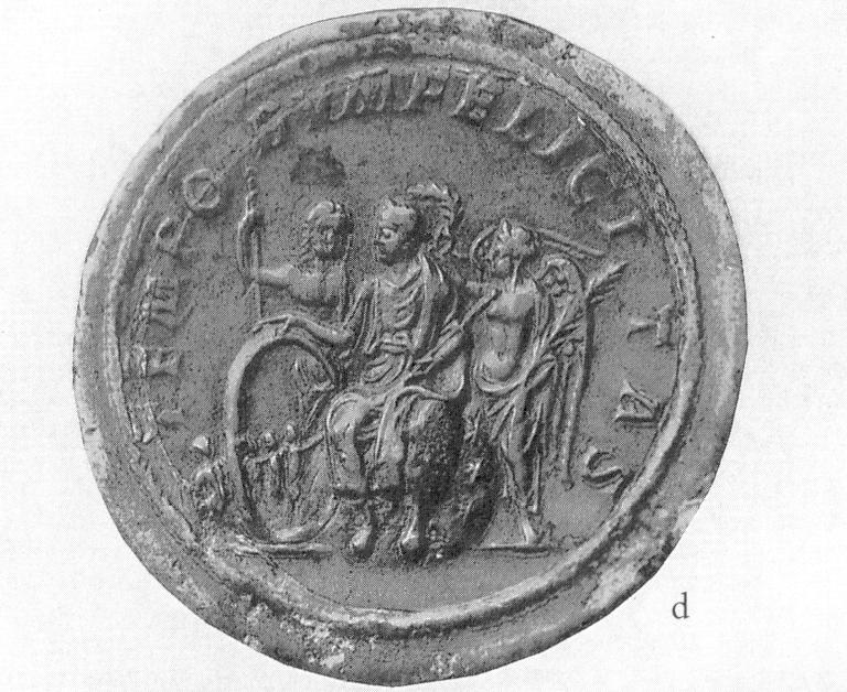 Empereur 222-35 medaillon de l'Empereur Severe Alexandre bis