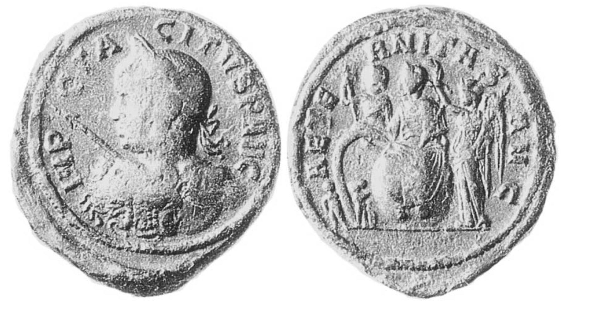 Empereur 276 medaillon de l'Empereur Tacite