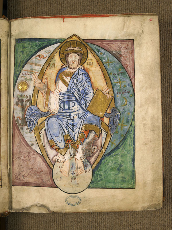 Evangelaire 10e s.-11e s. Boulogne-sur-Mer, BM, 0011 fol 10