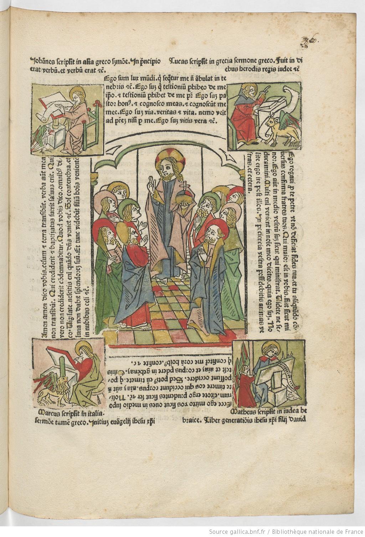 Fasciculus temporum Rolevinck, Werner 1481 Wirtzburg, Henricus editeur vue 89 gallica